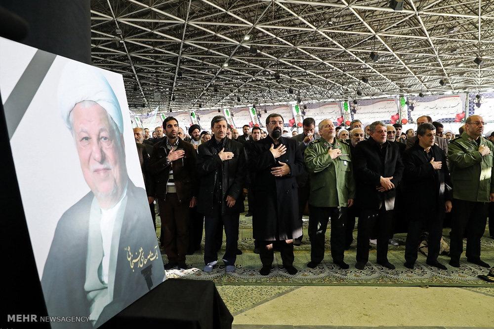 تشییع پیکر هاشمی رفسنجانی