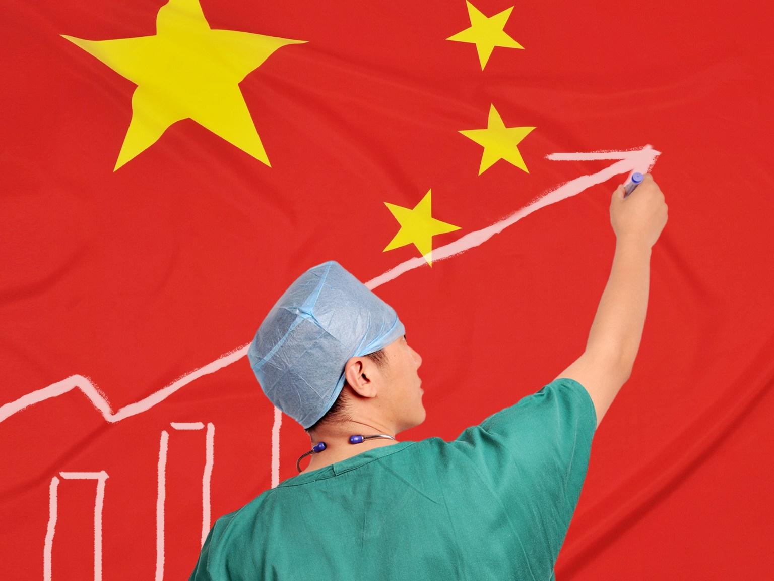 چین | افزایش شمار تختهای بیمارستانی و کارکنان پزشکی