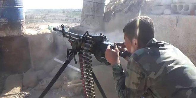 عقب نشینی داعشی ها از اطراف شهر دیرالزور سوریه