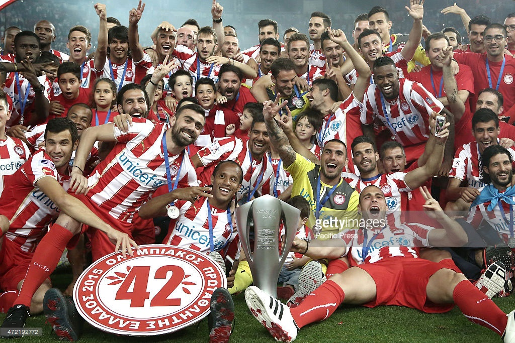 قهرمانی در سوپر لیگ یونان