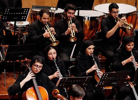 یادی از محمد نوری در کنسرت ارکستر خانه هنرمندان ایران