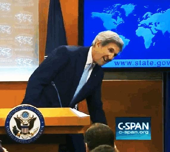 جان کری وزارت خارجه آمریکا را ترک کرد