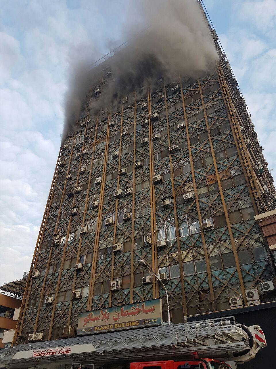 پیام تسلیت معصومه ابتکار در پی حادثه ساختمان پلاسکو