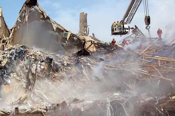 تخریب ساختمان پلاسکو