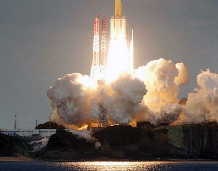 اولین ماهواره نظامی ژاپن راهی فضا شد