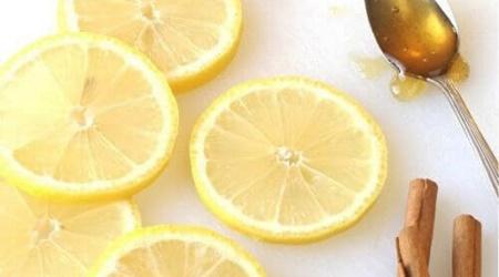 عسل و لیمو ترش و دارچین