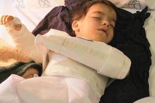 جراحی اشتباهی کودک اصفهانی