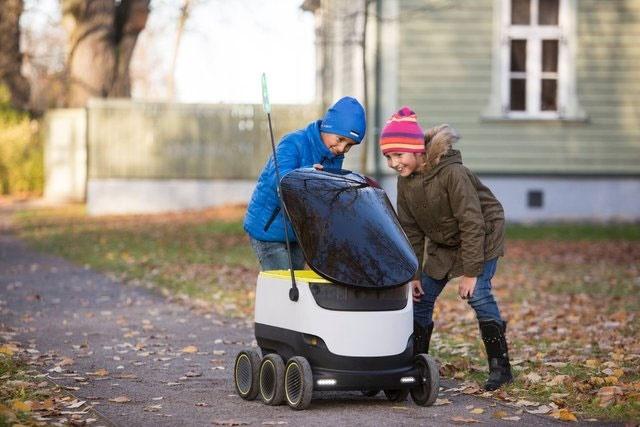 گسترش استفاده از روباتهای تحویلدهنده در آمریکا