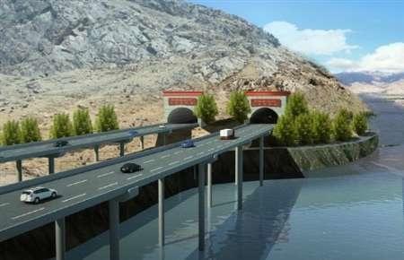 ساخت بزرگترین جاده کمربندی جهان در تبت چین