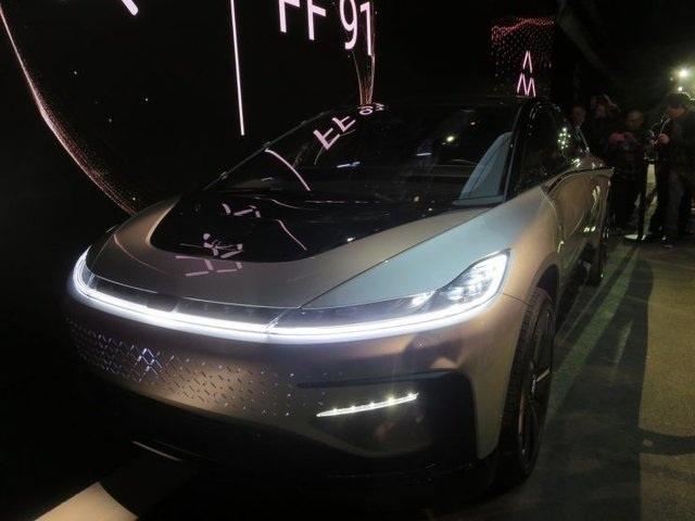 تصویر : سریعترین خودروی الکتریکی جهان