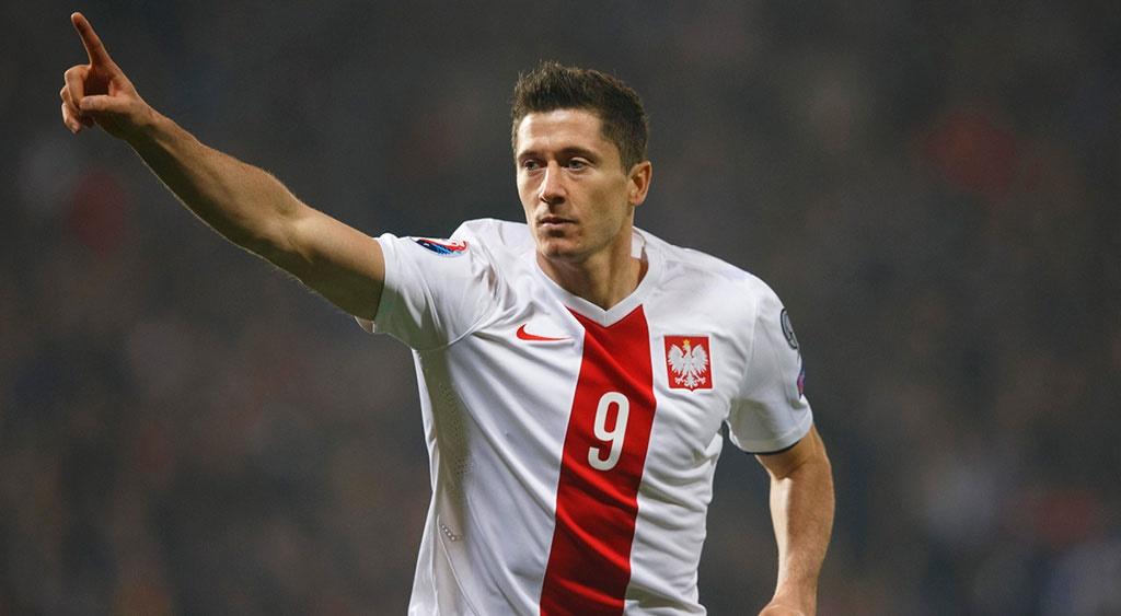 لواندوفسکی در تیم ملی