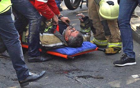آتش سوزی و فرو ریختن ساختمان پلاسکو | شهادت جمعی از اتشنشانها