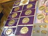 توزیع سکه طلای تقلبی توسط جاعلان