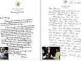 نامه بوش به اوباما برای نخستین بار در اختیار عموم قرار گرفت