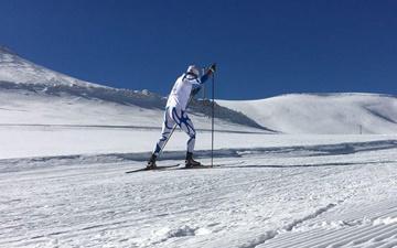 هفته سوم لیگ اسکی صحرانوردی/ سید ستار صید و سمانه بیرامی باهر اول شدند
