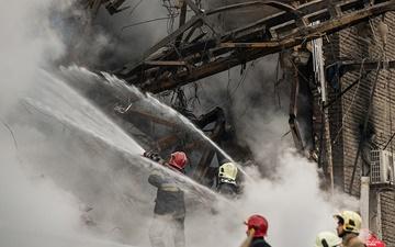 گزارش وزیر کشور درباره حادثه پلاسکو در شورای امنیت
