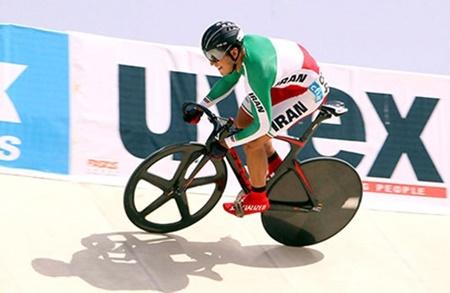 صعود دانشور به رده ششم دوچرخهسواری جهان