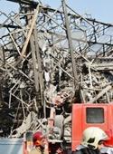 روایت یک خبرنگار؛ آتشنشانها و مغازهدارها محبوس شدند