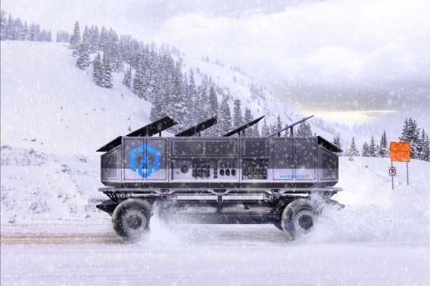 کامیونی که برق و آب تولید میکند