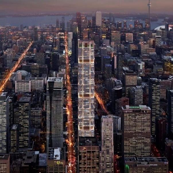 بلندترین برج کانادا تا ۲۰۲۰ ساخته میشود