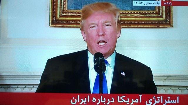 ترامپ ایران را از حامیان اصلی تروریسم خواند