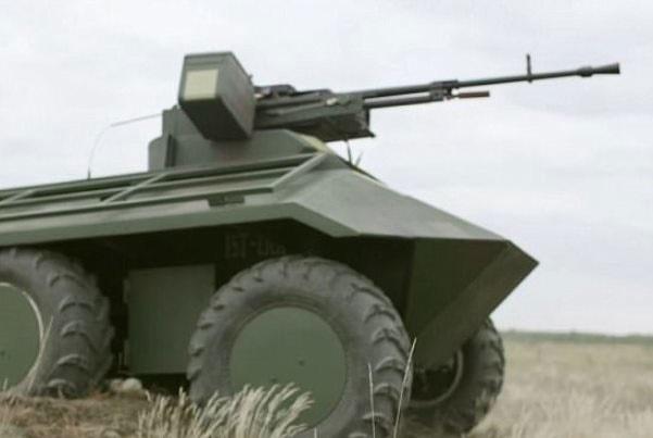 روبات جنگی با قابلیت جابجایی سربازان زخمی
