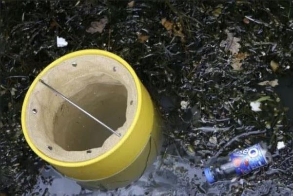 این سطل زبالههای اقیانوسی را جمعآوری میکند
