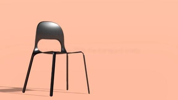 طراحی صندلی برای استفاده در مریخ