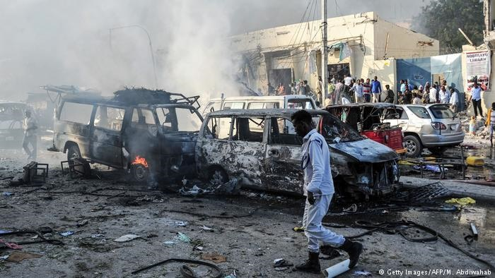 شمار قربانیان سوءقصد انتحاری در سومالی به ۲۷۶ نفر رسید