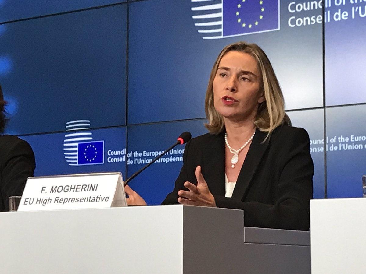 حمایت از برجام در نشست وزرای خارجه اتحادیه اروپا
