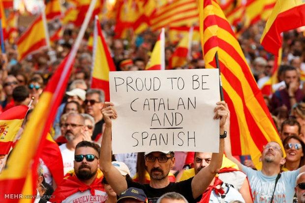 دادگاه قانون اساسی اسپانیا رفراندوم کاتالونیا را غیرقانونی خواند