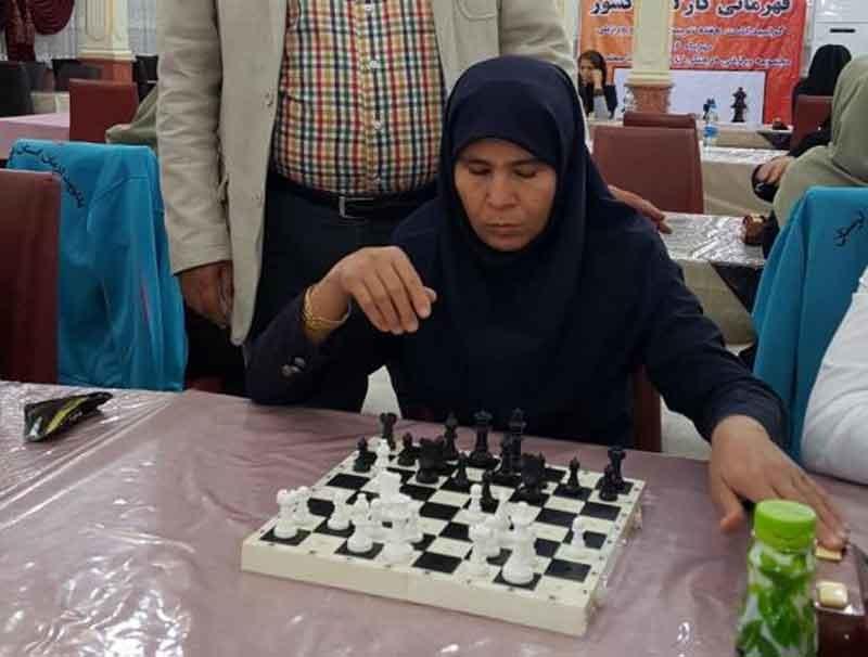 استان تهران فاتح رقابتهای شطرنج قهرمانی بانوان کارگر کشور شد