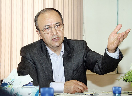 علی فاضلی رئیس اتاق اصناف ایران