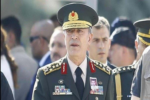 رئیس ستاد ارتش ترکیه