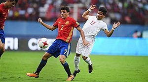 جام جهانی نوجوانان؛ شکست ایران مقابل اسپانیا در مرحله یکچهارم