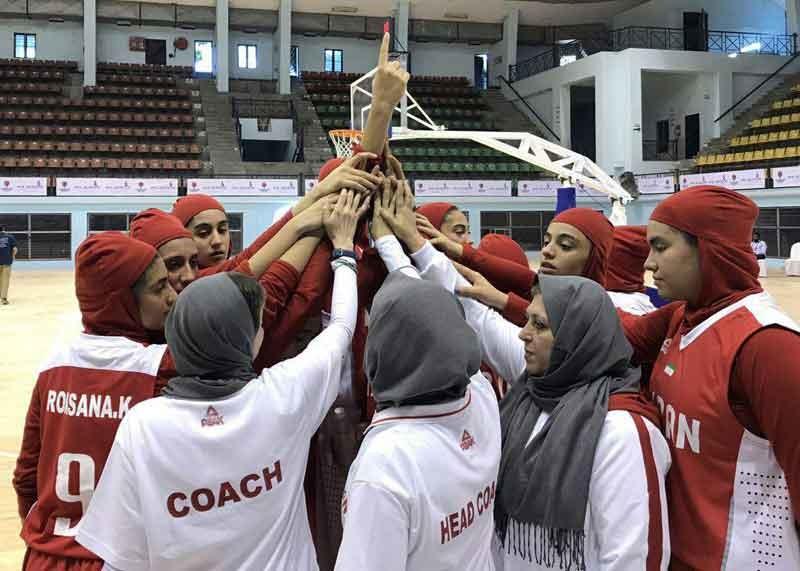 بسکتبال دختران زیر ۱۶ سال آسیا؛ دختران کشورمان اولین گام را محکم برداشتند