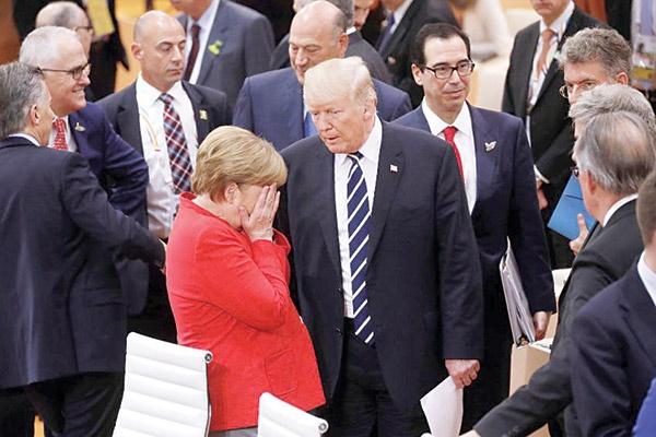 نا امیدی ترامپ از اروپا