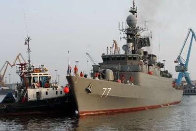 ناوگروه صلح و دوستی ایران از روسیه به میهن بازگشت