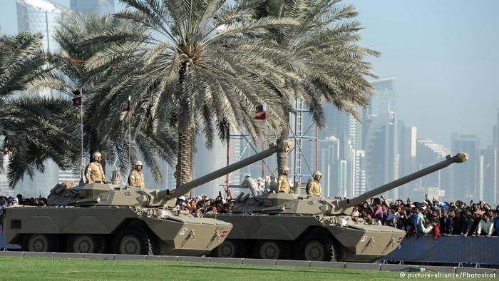 قطر و روسیه پیمان همکاری نظامی امضا کردند