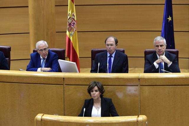 سنای اسپانیا خودمختاری کاتالونیا را لغو کرد