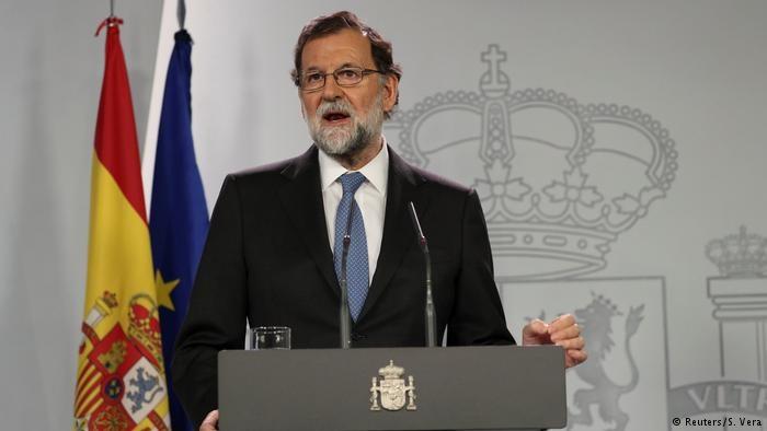 نخست وزیر اسپانیا پارلمان و دولت کاتالونیا را منحل کرد