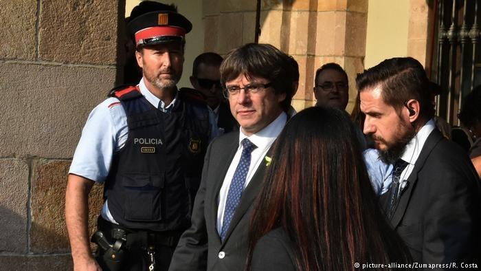 رئیس دولت منحله کاتالونیا شهروندان را به مقاومت دموکراتیک فراخواند