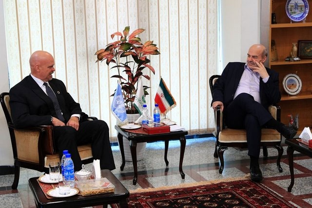دیدار نماینده مقیم سازمان ملل در تهران با کلانتری