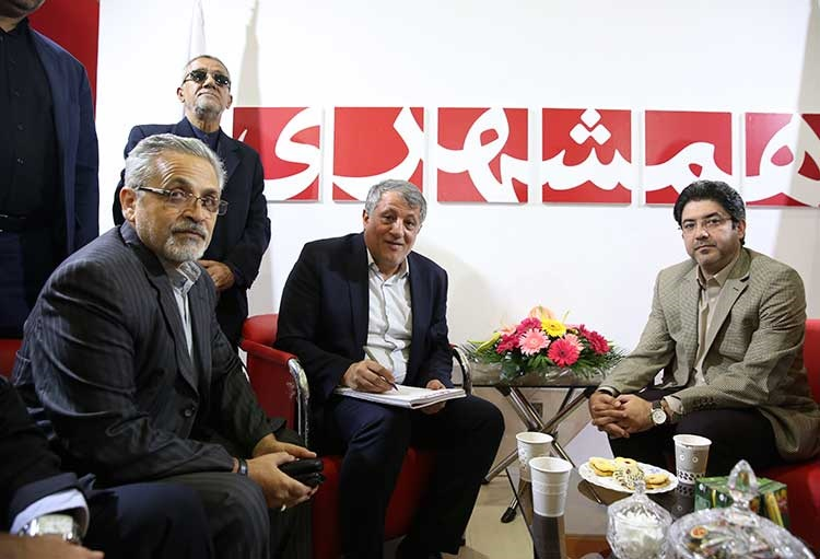 مهندس محسن هاشمی رئیس و عضو شورای اسلامی شهر تهران