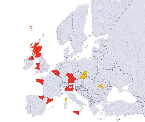 همه جداییطلبان اروپا