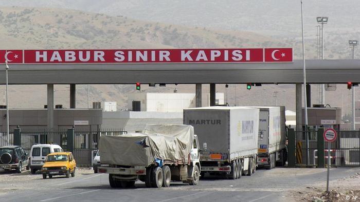 کنترل دولت عراق بر دو گذرگاه زمینی مهم با ترکیه