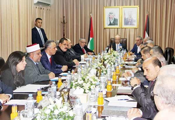 تشکیل کابینه فلسطین در غزه