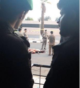 حمله مسلحانه به کاخ پادشاه سعودی در جده