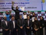 بانوان تهران برای دومین سال پیاپی قهرمان تکواندوی جوانان و بزرگسالان کشور شدند