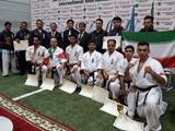 مقام سومی تیم کیوکوشین یونیون ایران در مسابقات بینالمللی اوراسیا